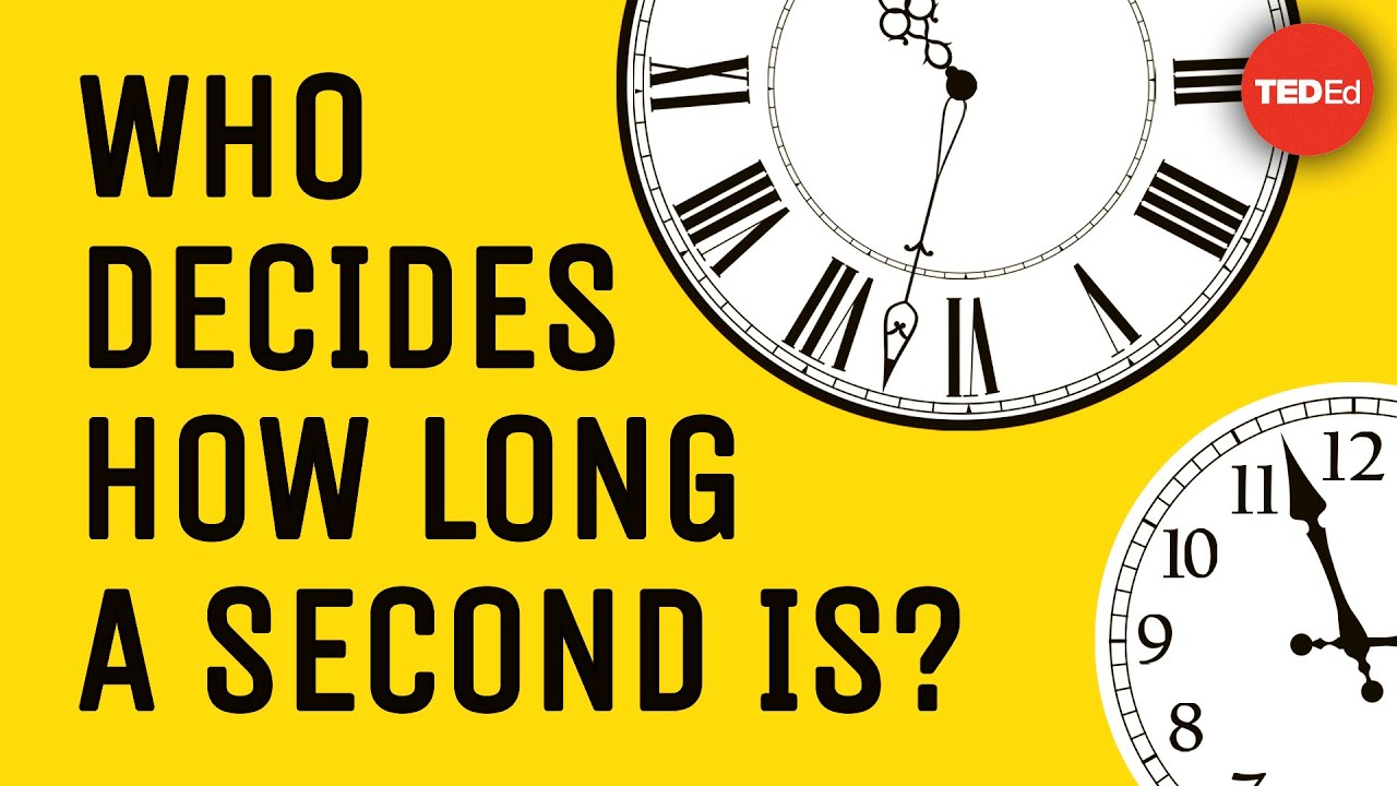 Who decides how long a second is? - John Kitching