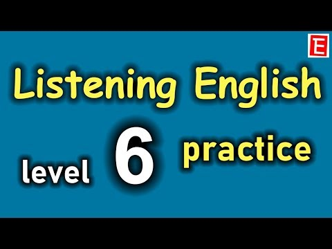 English Listening Practice Level 6 😍Daily English Conversation👍Learn English Listening Comprehension