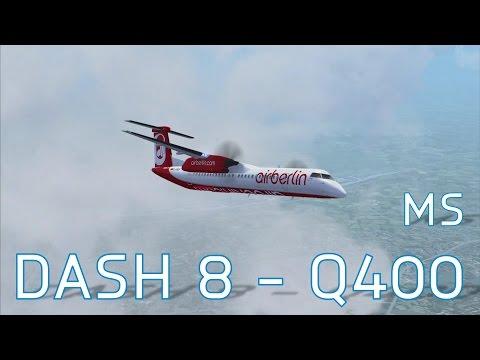 FSX Majestic Software Dash 8 - Q400 | Frankfurt