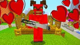ALEX AND SATAN MINECRAFT - SATAN GETS A GIRLFRIEND ALEX? STEVE? NITRO?