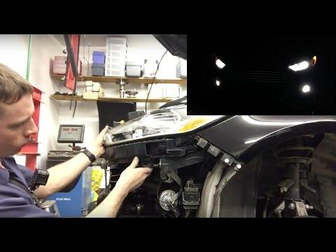 Ford Fusion LED Light Upgrade