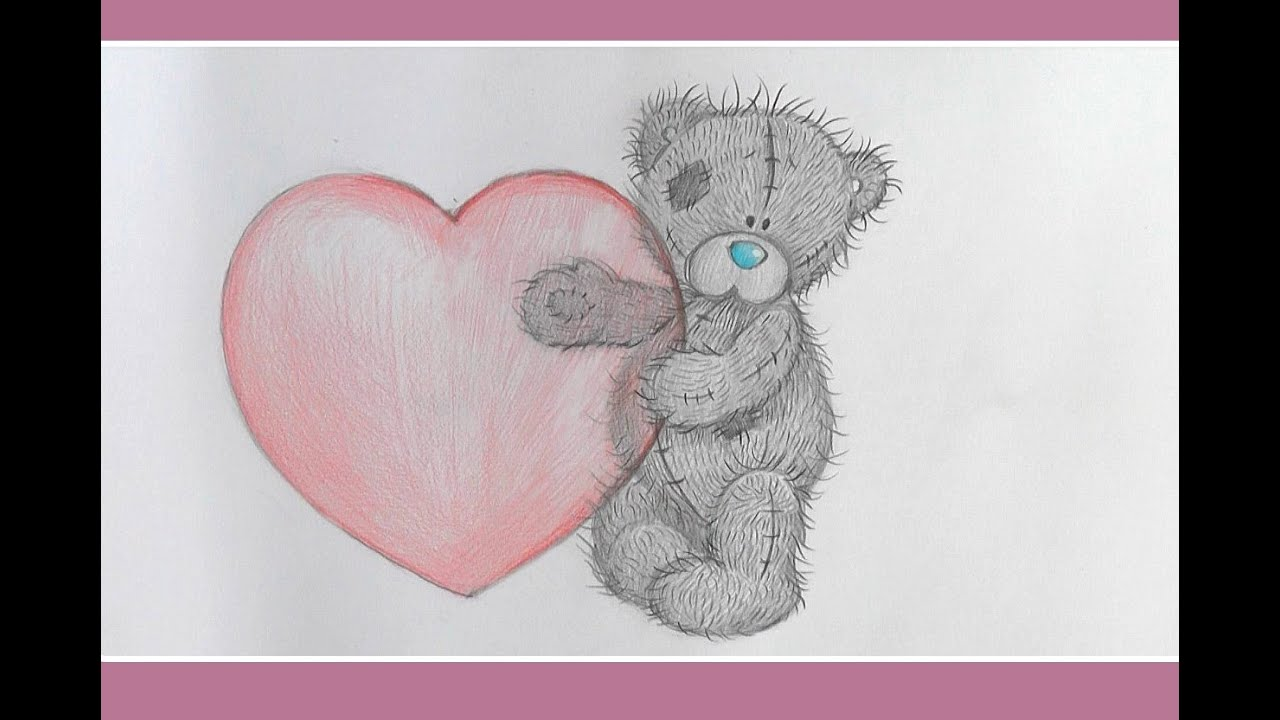 Drawing lessons.How to Draw a TEDDY BEAR - YouTube