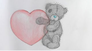 Drawing lessons.How to Draw a TEDDY BEAR