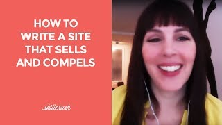 How to write a site that sells and compels