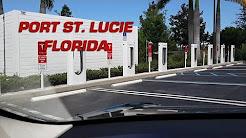 Port St Lucie, FL Tesla Supercharger I-95 NB