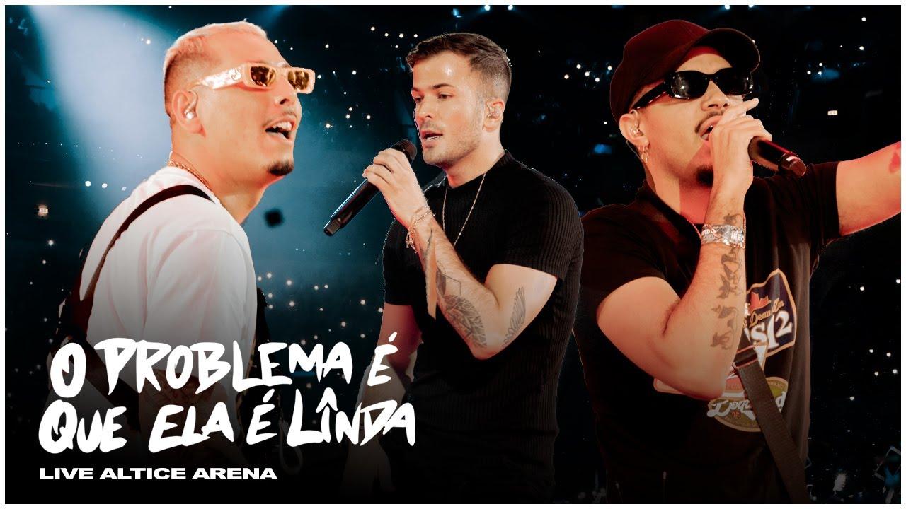 David Carreira - O Problema É Que Ela É Linda (Live Altice Arena) ft Deejay Télio, Mc Zuka