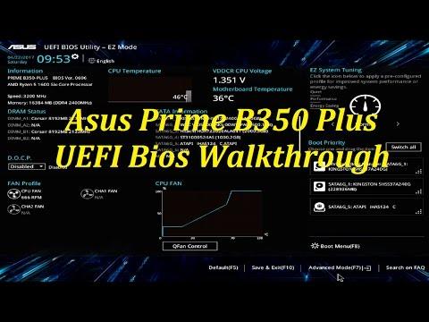 Asus Prime B350-Plus Bios