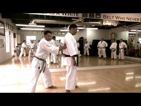 Sanchin and Tensho Points