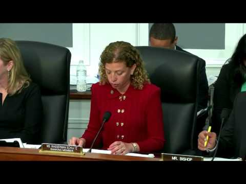 Ranking Member Wasserman Schultz Discusses Military Issues