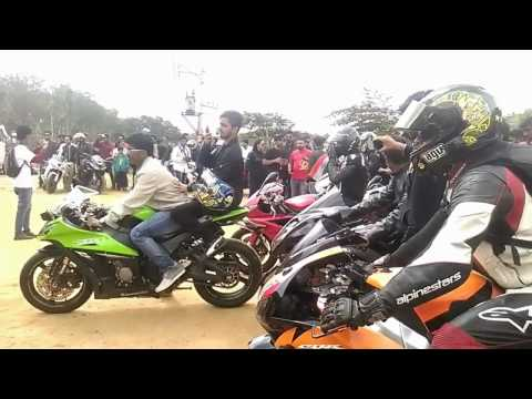 Super Bikes Bangalore   Independence Day Ride   Nandhi Hills
