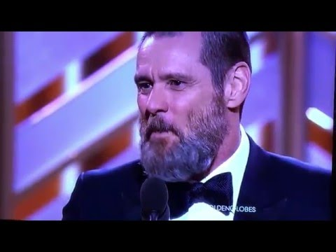 Thumbnail: Jim Carrey The Revenant Golden Globes 2016