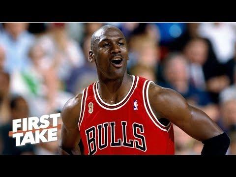 Michael Jordan getting