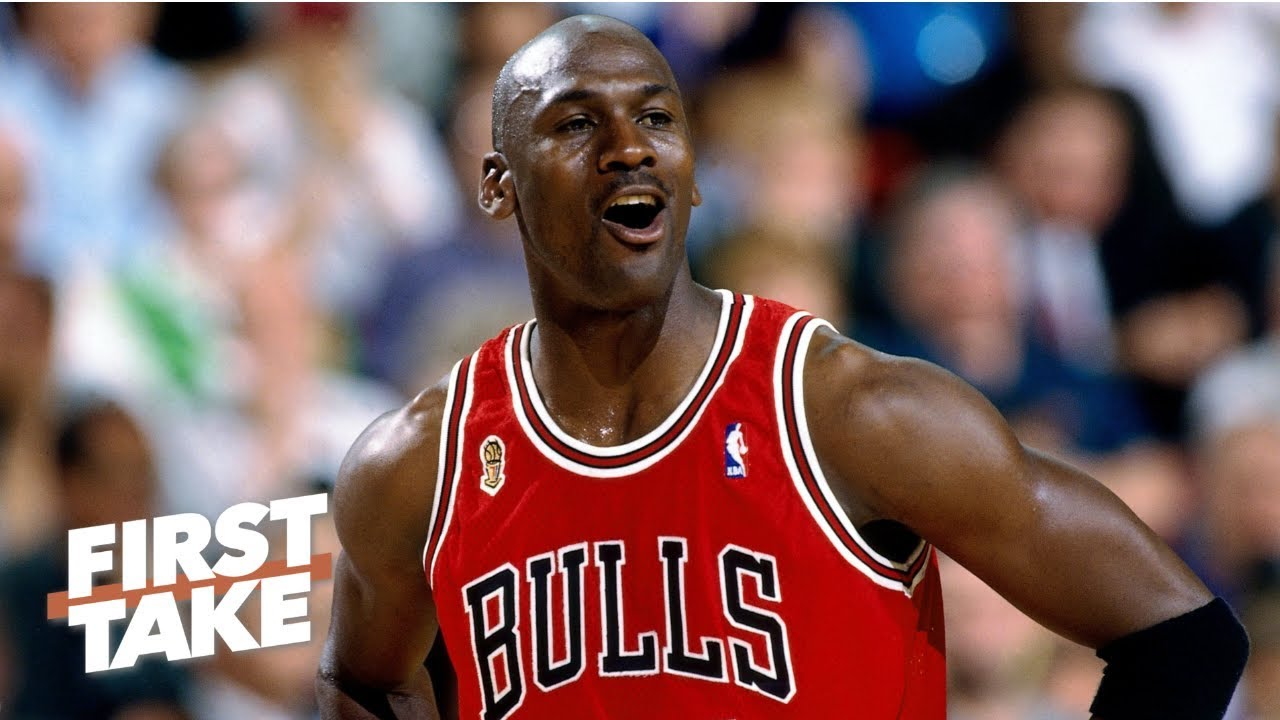 cheap for discount bed1f ffedf Michael Jordan getting 73% of NBA players  GOAT vote is  hilarious  - Max  Kellerman   First Take