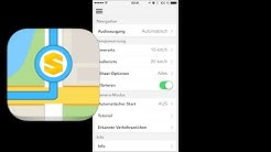 GPS Navigation by Scout Skobbler-Navi im Test, Review, iPhone (deutsch)