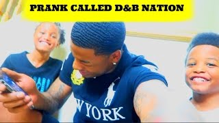 prank calling d nation he was about to fly to my house