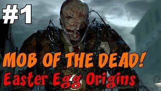 ★ CoD Zombies EASTER EGG Origins: MOB OF THE DEAD [1] ★ The EVIL and VILE Brutus!