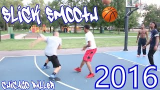white boy has fast handles and game