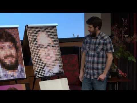 My Chuck Close problem: Scott Blake at TEDxOmaha
