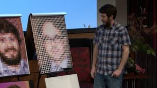 My Chuck Close problem: Scott Blake at TEDxOmaha