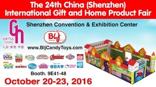 Shenzhen China Gift & Toy Fair  BLJ Candy Toys