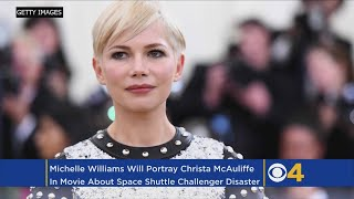 Michelle Williams To Portray Christa McAuliffe In 'Challenger' Movie, Report Says