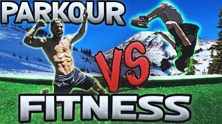 PARKOUR 🤛VS🤜 FITNESS | *RETOS EXTREMOS* con CORBACHO