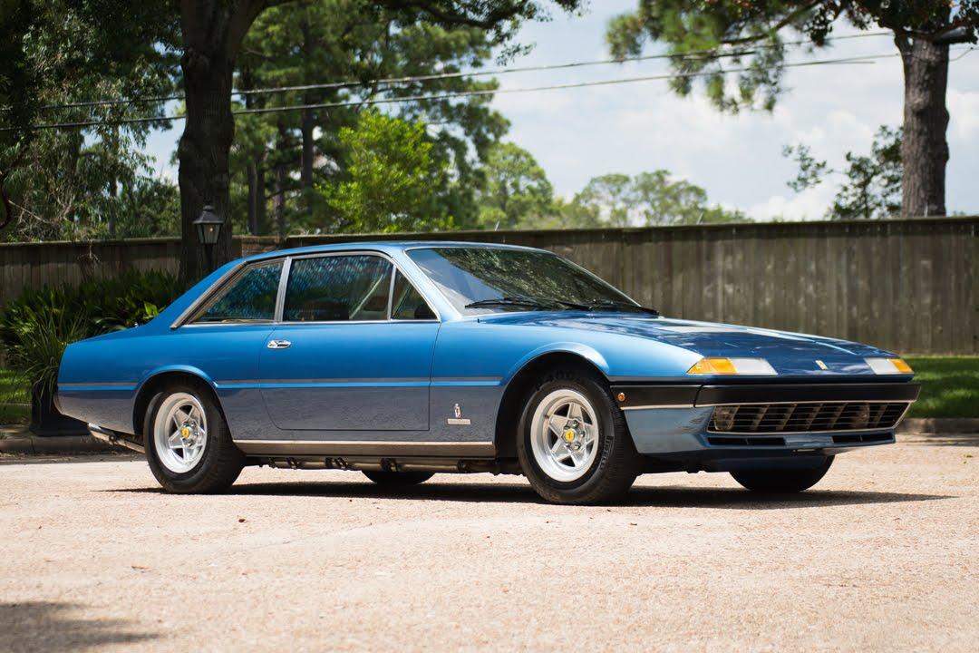 1978 Ferrari 400gt Coupe Driving Youtube