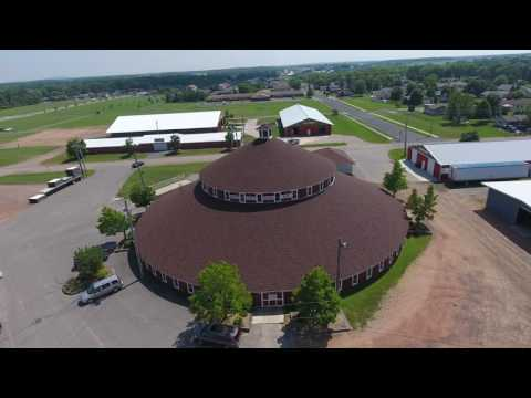 World's Largest Round Barn in 2016 in Marshfield, WI
