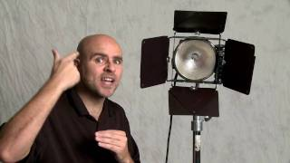 Video Lighting Technique: Turn a Hard Light into A Soft Light