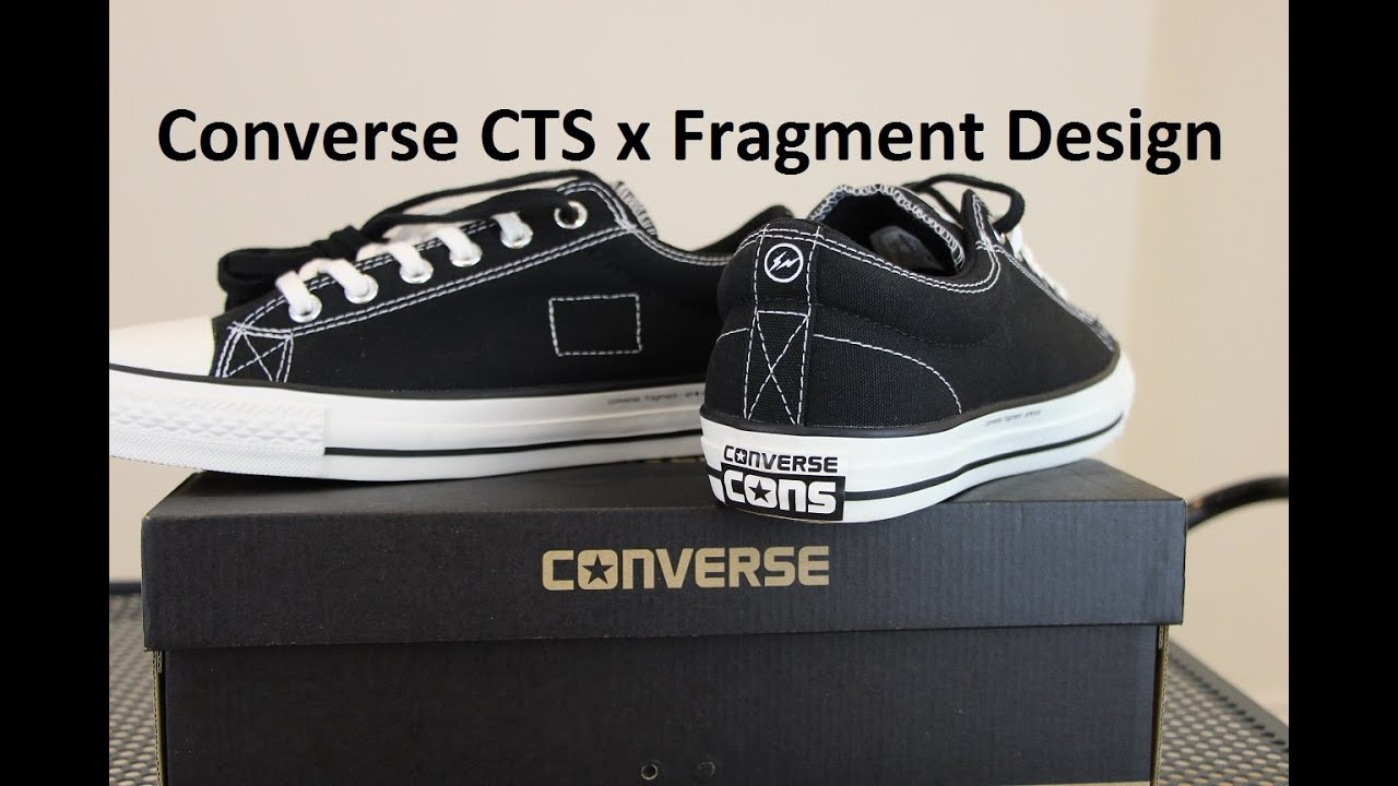 0d0802f69ea767 Converse CTS x Fragment Design (Review + On Feet) - YouTube