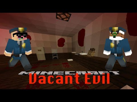 Going On Vacation - Minecraft Commander Coffee & Detective Donut Vacant Evil Map