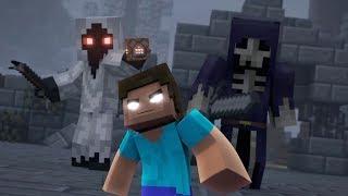 HEROBRINE VE ORDUSU TÜM SERVERLARI HACKLEDİ (Minecraft Animasyon)