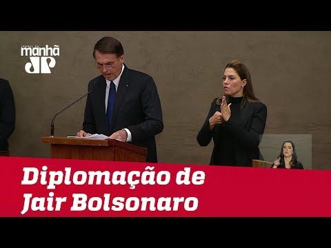 O discurso completo de Jair Bolsonaro na cerimônia de diplomação no TSE