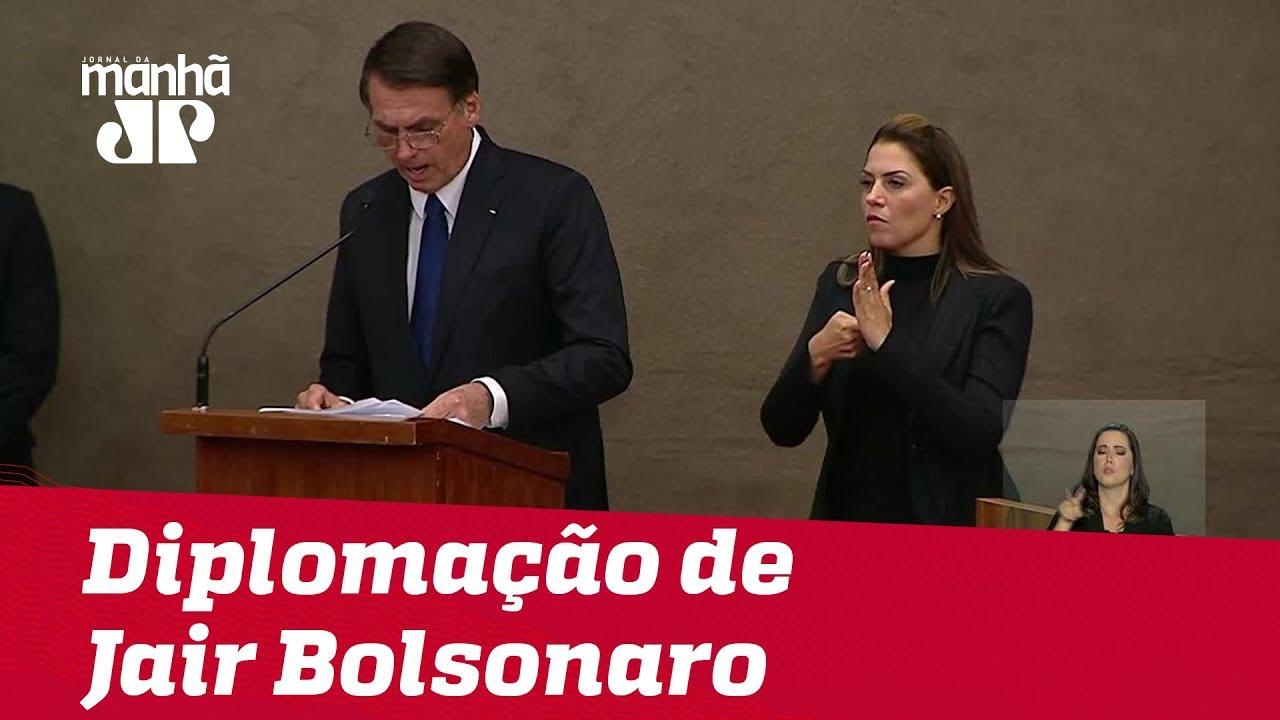 O Discurso Completo De Jair Bolsonaro Na Cerimônia De