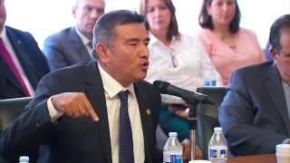 Intervención del Dr. Oscar Ramírez Ríos, en la Asamblea Nacional de Diputados