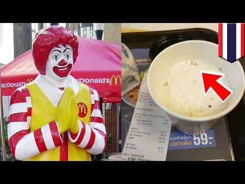 Pria temukan kaki kecoa di dalam kopi McDonald's - TomoNews