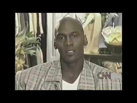 Michael Jordan (Retired, Age 36) On Larry King Live (1999)