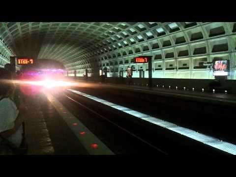 Washington DC Metro Pentagon City Station Blue Line