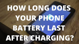 How To Increase Android Phone Battery Life (How To Make Your  Battery Last Longer After Charging)