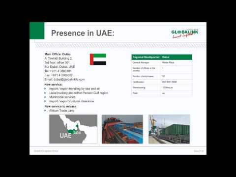 Globalink Project Logistics Presentation
