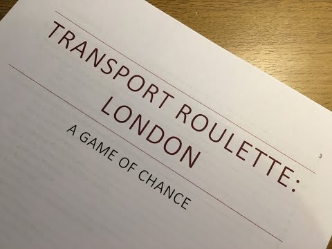Transport Roulette London - The Periscope Compilation