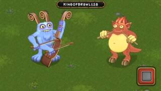 my singing monsters bowgart and drumpler duet plant island