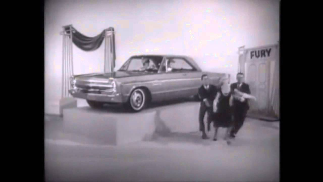1960 Plymouth Fury Station Wagon 65 Car Models Commercial Youtube