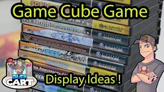 GameCube Display Ideas for a Game Collection or Game Room !