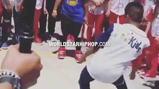 Did Em Dirty: Lil Man Snapped And Shut Down This Dance Battle!