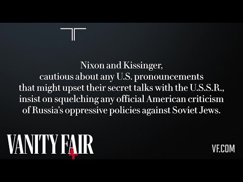 """From the Lost Nixon Tapes: """"Soviet Jews? It's None of Our Business"""""""