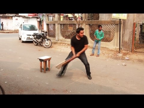 Street Cricket in Guwahati, Assam