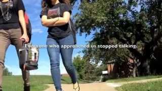 Walking in Between Two People Talking, Fall 2012