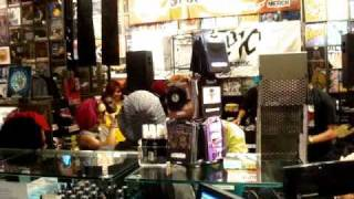 Indigo Unchained (Vanity) Performing Rock Your World @ Hot Topic City Walk