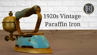 1920's Iron Restoration, Old Tool Restoration, Stop Motion Restoration